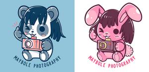 Maybole Photography Mascot Drawings - COMMISSION