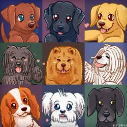 Doggo portraits Part 3