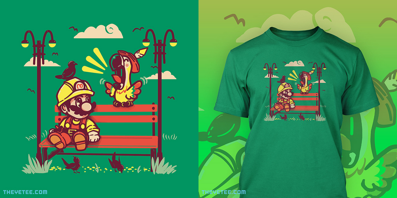 This shirt is printing over at TheYetee.com (Aug17 by SarahRichford