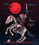 The Blood Moon Rises - TechraNova design by SarahRichford