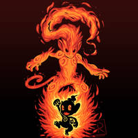 The Fire Ape Within - Chimchar and Infernape