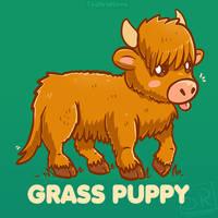 Grass Puppy by SarahRichford