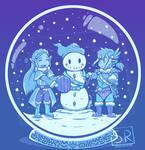 Peaceful Snow - Winter Zelda BoTW Design by SarahRichford