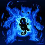 Inner Water Tortoise - Blastoise and Squirtle by SarahRichford