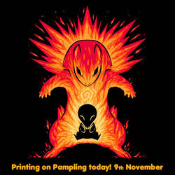 Pampling are printing my design today Nov 9