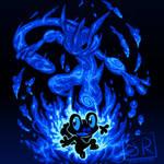 The Water Ninja Within - Froakie and Greninja by SarahRichford