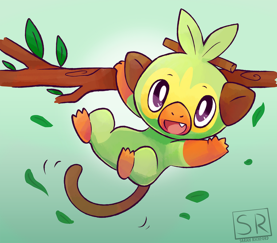 Pokemon Sword And Shield Grookey By Sarahrichford On Deviantart Read about grookey in pokemon sword and shield: pokemon sword and shield grookey by