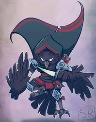 Crow Rogue - Crogue by SarahRichford