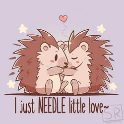 I just NEEDLE little love - TechraNova design by SarahRichford