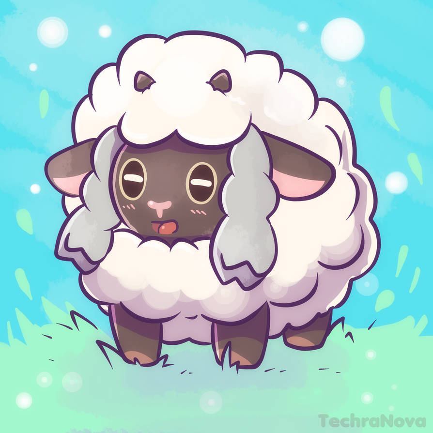 New Sword And Shield Pokemon Wooloo By Sarahrichford On Deviantart