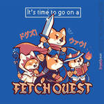 ShirtPunch is printing my Fetch Quest design