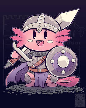 Knight Axolotl