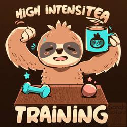 High IntensiTEA Training Sloth