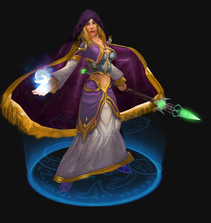 Heroes Of The Storm Build Jaina