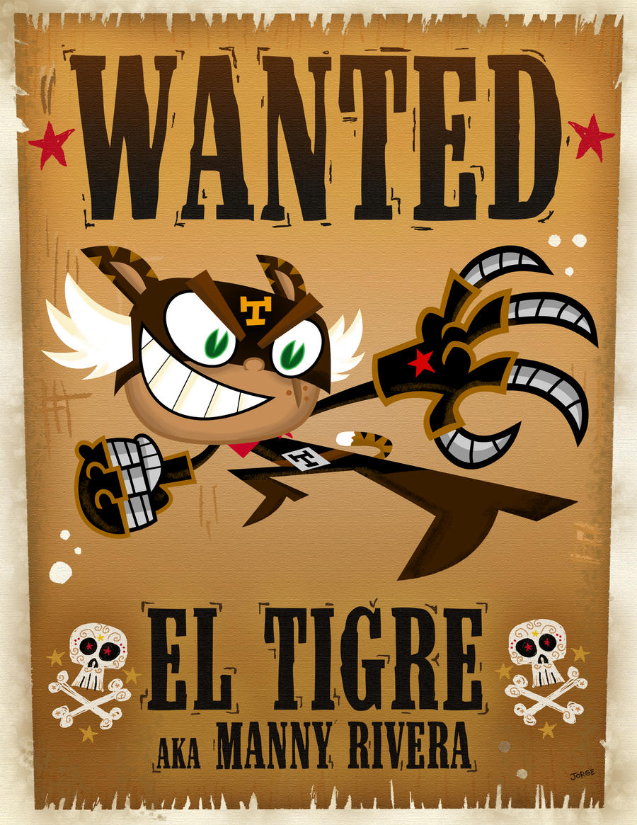 El Tigre 2007 ComiCon poster 1