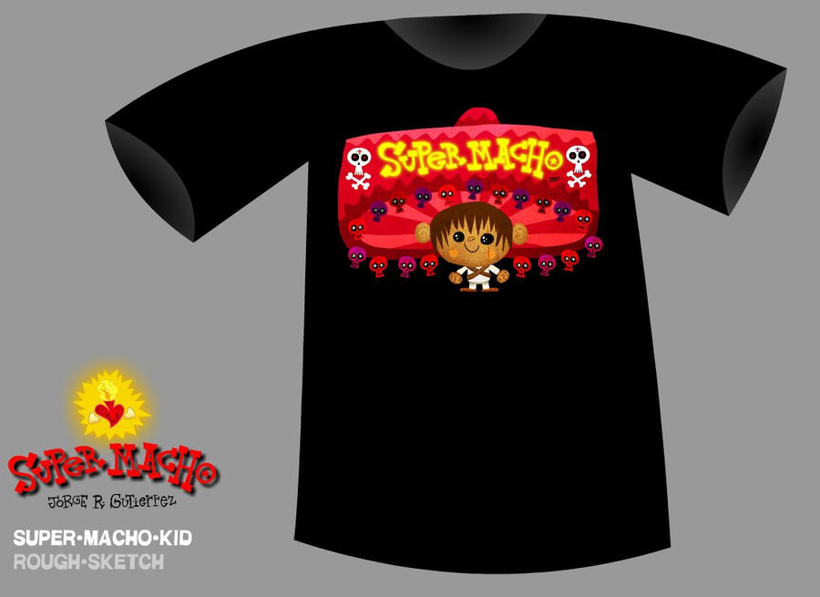 Super Macho shirts by mexopolis