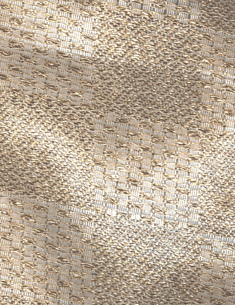 Gold Metallic Textile by ambersstock