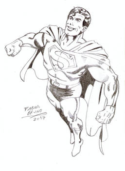 Superman 80'S - John Byrne Tribute by FabianBruno10
