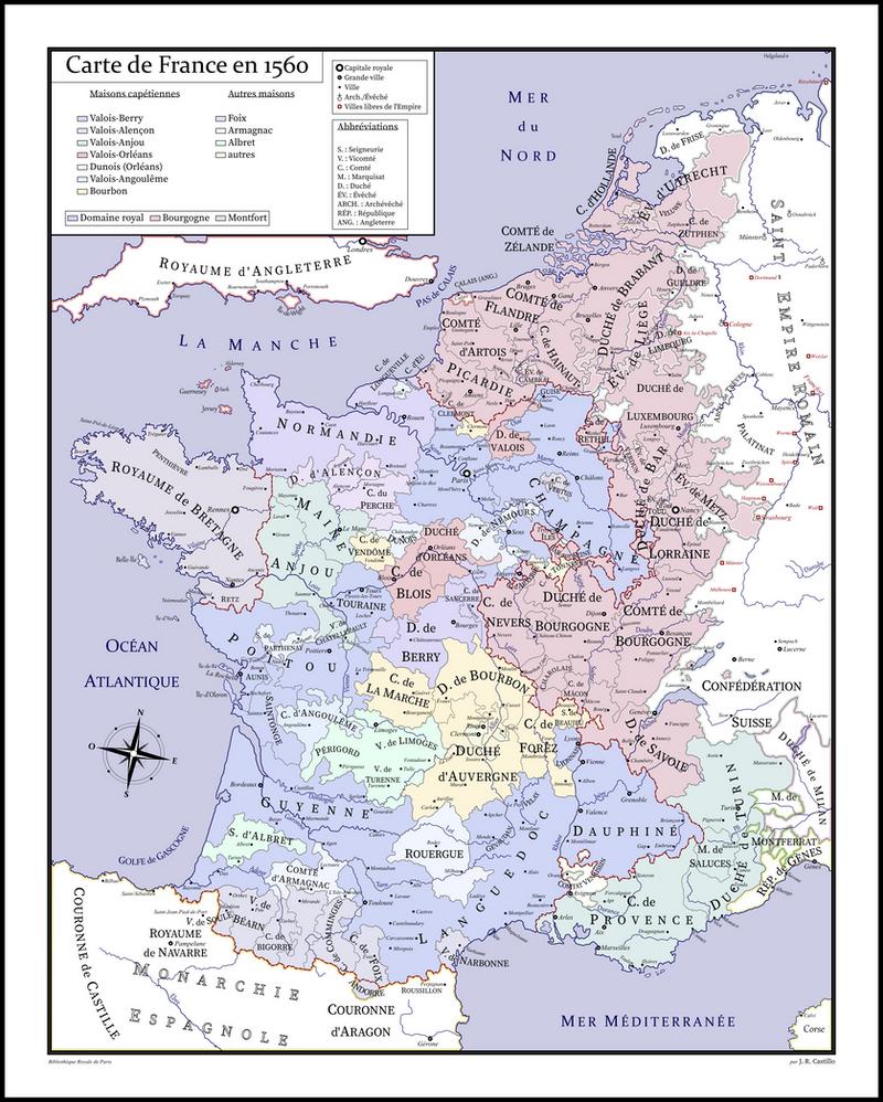 France 1560 by CastilloVerde