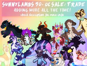 !![UPDATE 7/11/20]!! SELLING 50+ OCS
