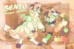 BENTO [Secondary fursona REF]
