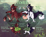 Fenrir reference + redesign [2019]