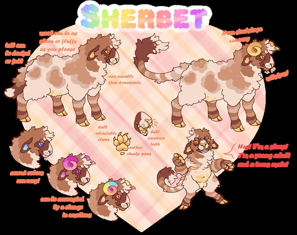 Sherbet GLOW UP!!! [New Ref]