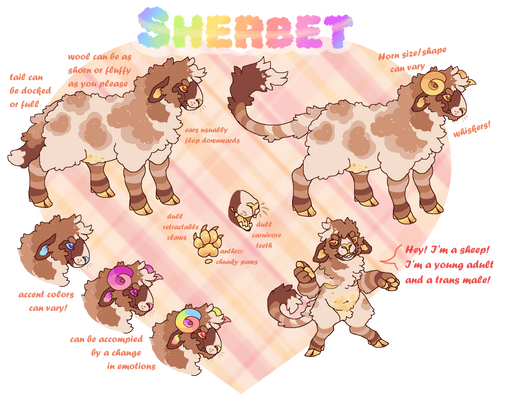 Sherbet GLOW UP!!! [New Ref]