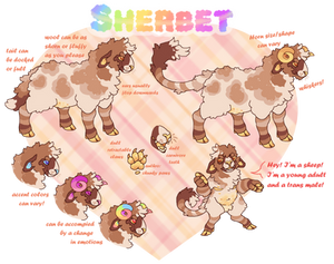 Sherbet GLOW UP!!! [Temporary New Ref]