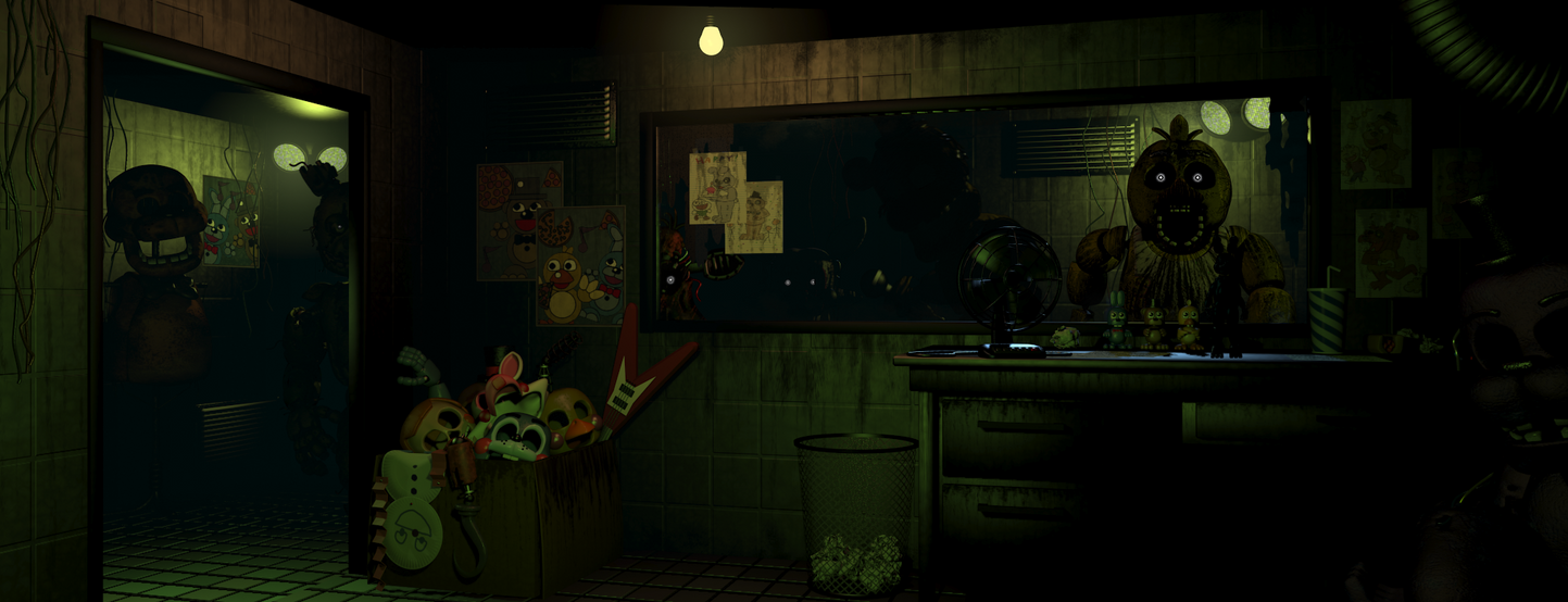 New office fnaf 3 by thefnafproject
