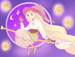 tangled | witchy!