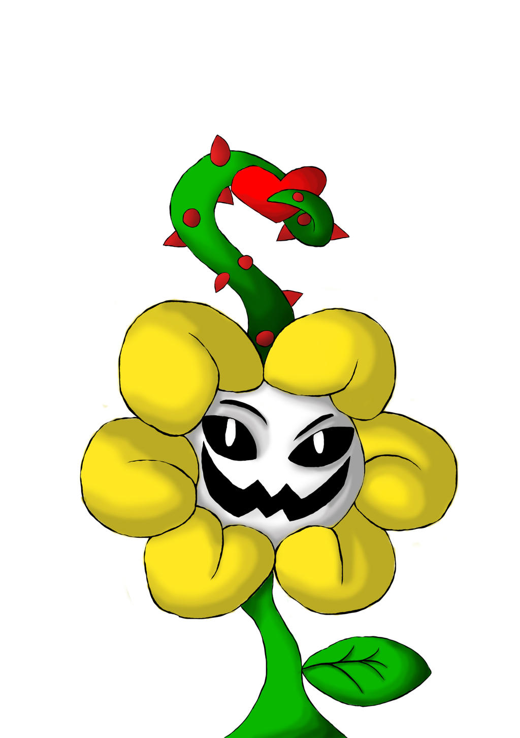 Flowey the Flower by DJTBProductions on DeviantArt