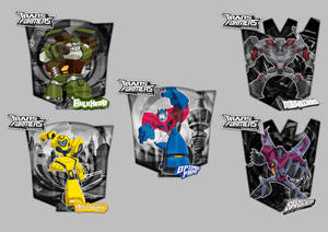 Transformers Animated Shields