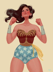 Wonder Woman by erilu