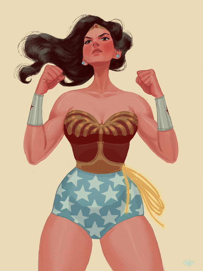 Wonder Woman by erilu