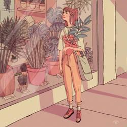 Plant Shopping by erilu