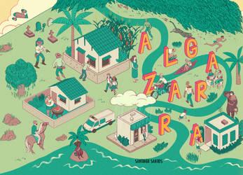 Algazarra Book Cover by erilu