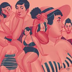 Curvy Summer by erilu