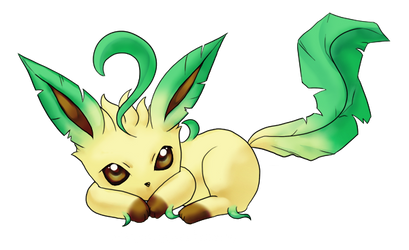 Leafeon by Raichana