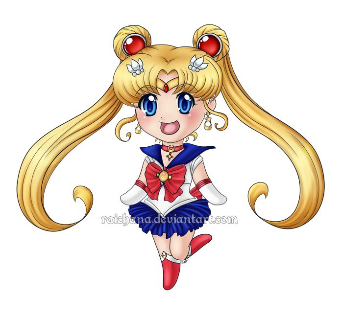 Sailor Moon by Raichana