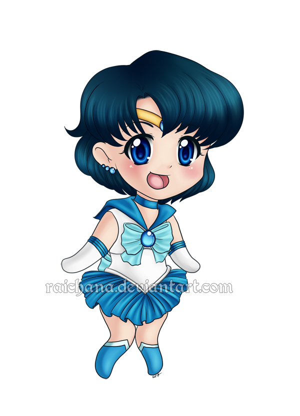 Sailor Mercury by Raichana