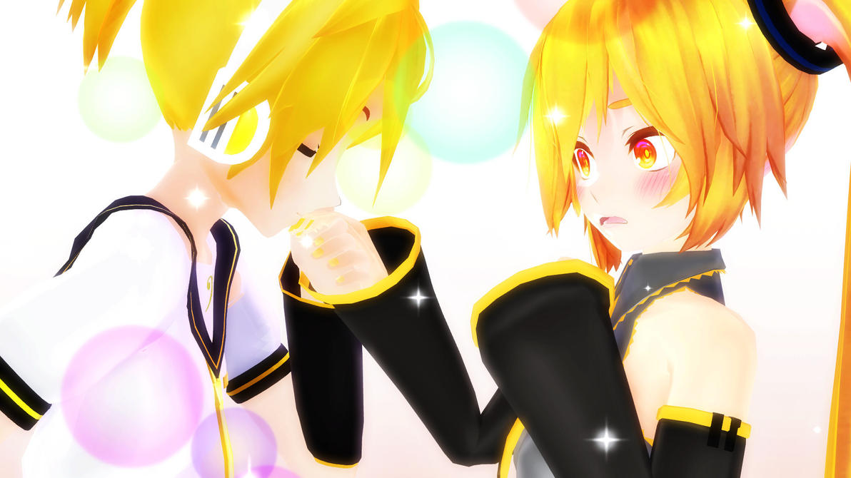 MMD - A Kiss on the Hand by Ayumichigolove