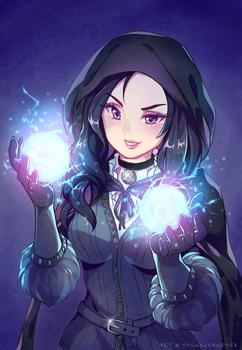 Yennefer FanArt - The Witcher