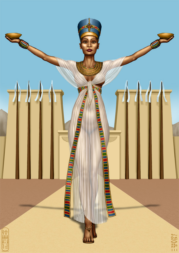Nefertiti by SleinadFlar