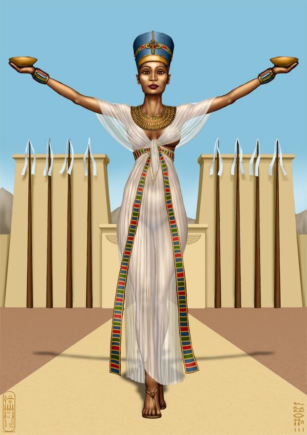 Nefertiti by SleinadFlar