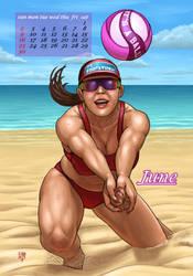 Sports Calendar 2019 (6 of 12) by SleinadFlar