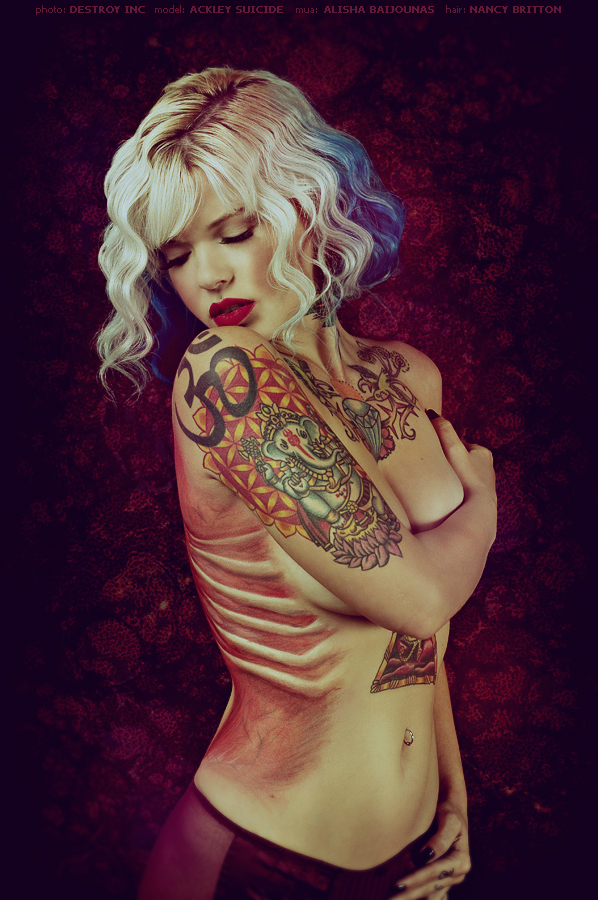 Flesh Series: Ackley by destroyinc