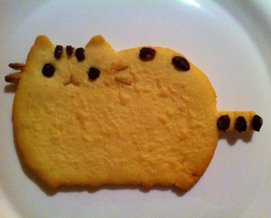 pusheen how to make cookies