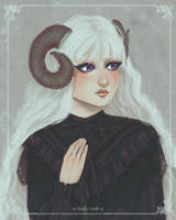 sheep girl by x-little-evil-x