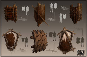 MWG Shield Concepts by artofjosevega